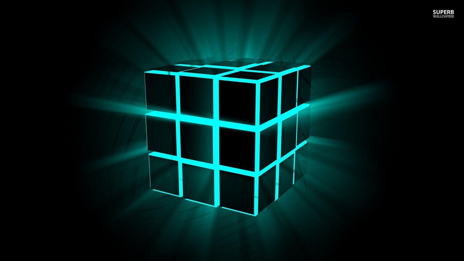 Neon Cubes HD Wallpaper   HD Wallpapers Inn 1920x1080