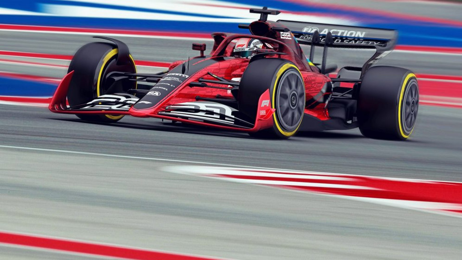 F1 New 2021 Car Images and New Regulations Revealed RaceDepartment 1920x1080