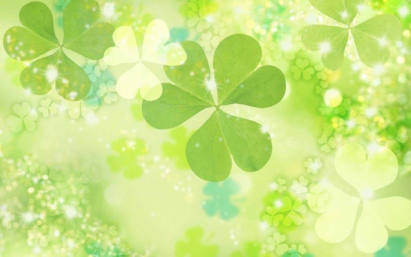 12 Lucky St Pattys Day Backgrounds 800x500