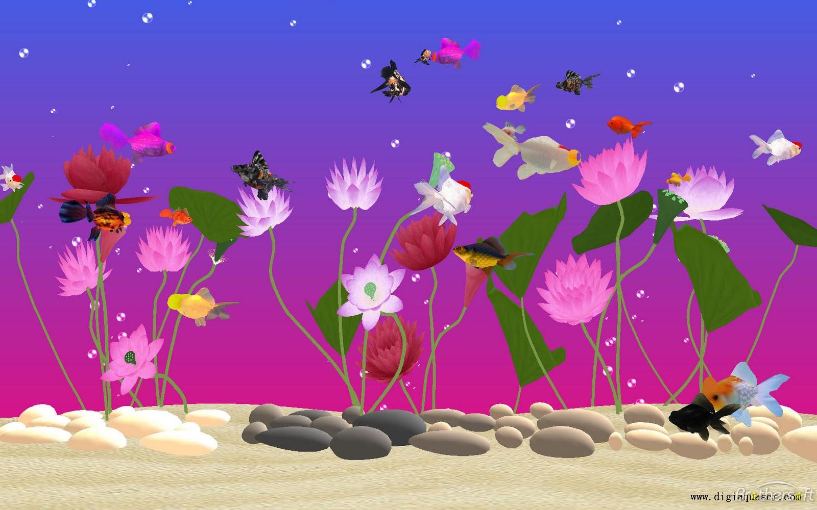 48 Most Popular Wallpapers For Desktop On Wallpapersafari: Animated Goldfish Wallpaper And Screensaver