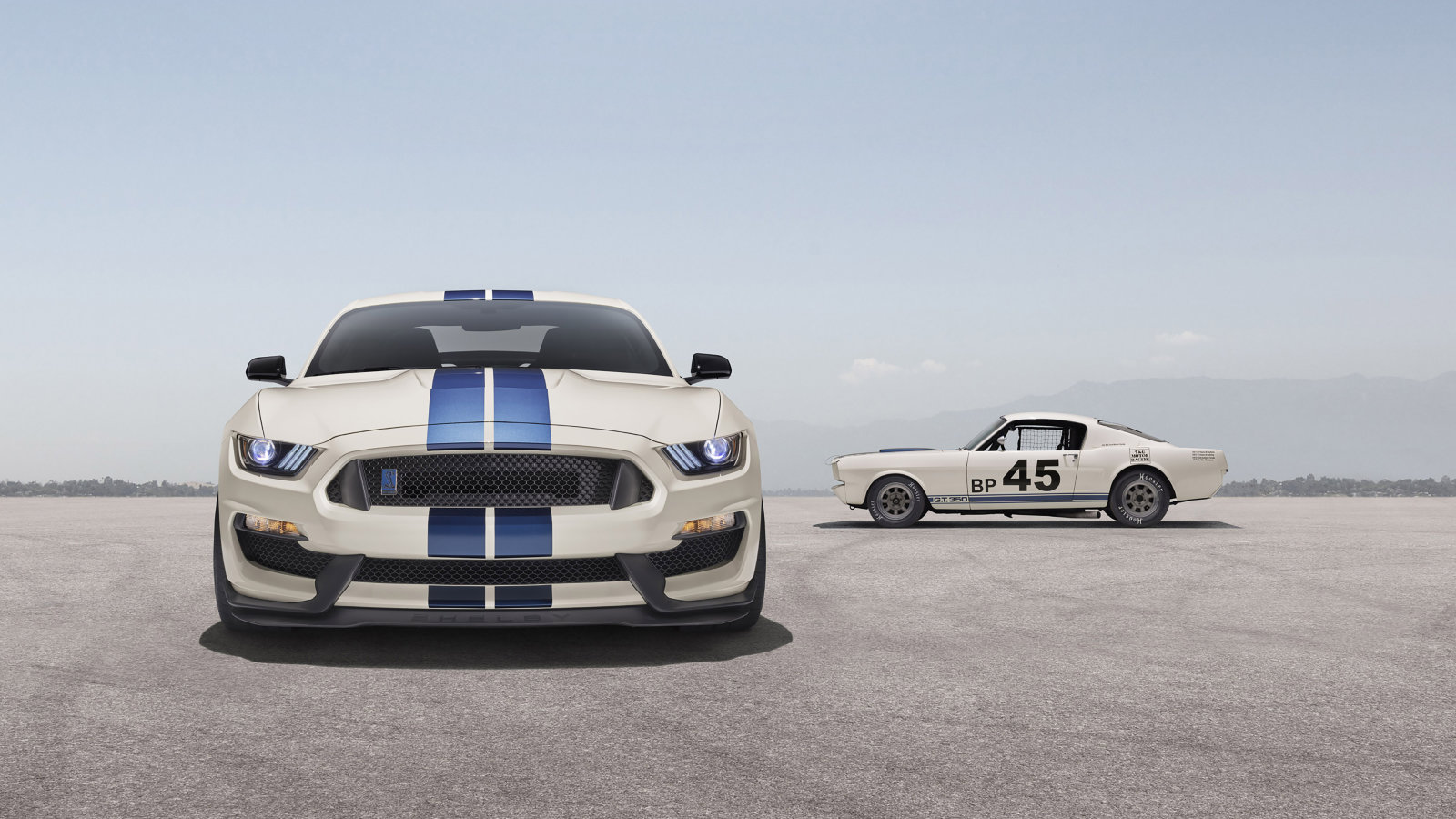 2020 Ford Mustang Shelby GT350 and GT350R Heritage Edition model 1600x900