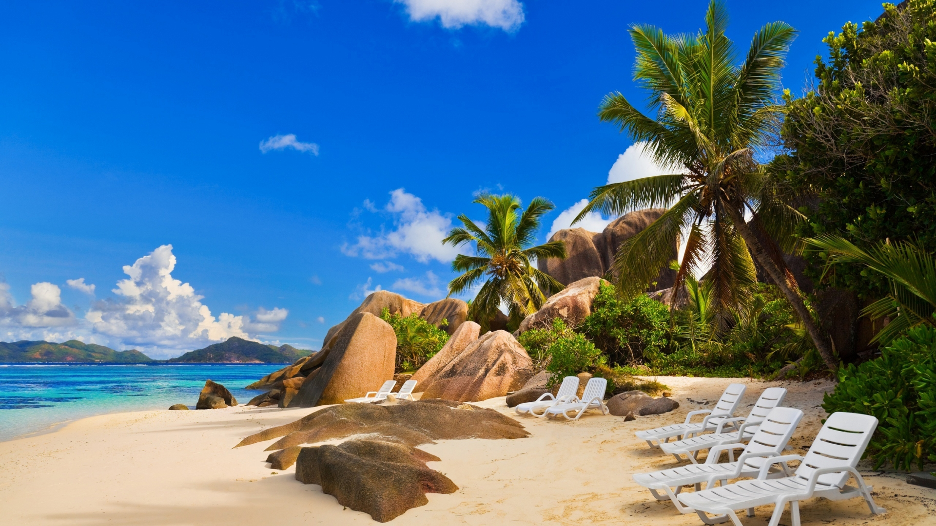 Exotic Sea Beach Wallpaper HD Sea Beach HD Widescreen Wallpapers 1920x1080