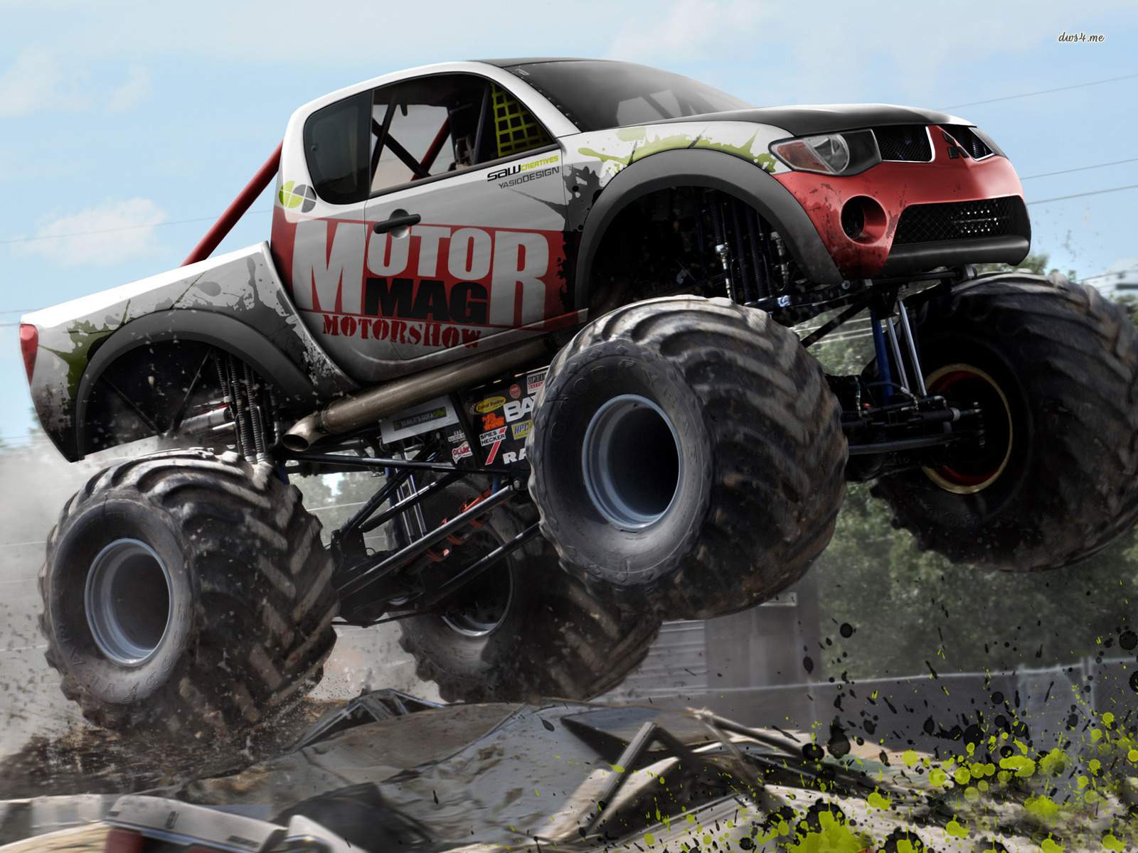Monster Truck Hd Wallpaper 1600x1200
