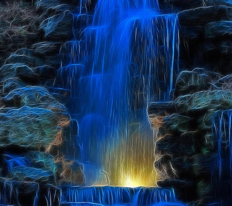Wallpaper Desktop: Free Animated Waterfall Desktop Wallpaper
