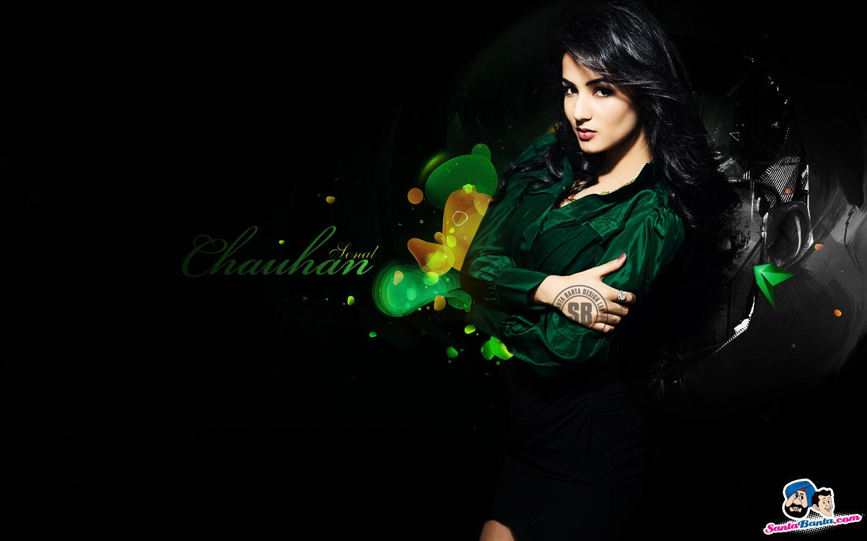 Sonal Chauhan Latest Hot Desktop Wallpapers Santa Banta Picture 1440x900