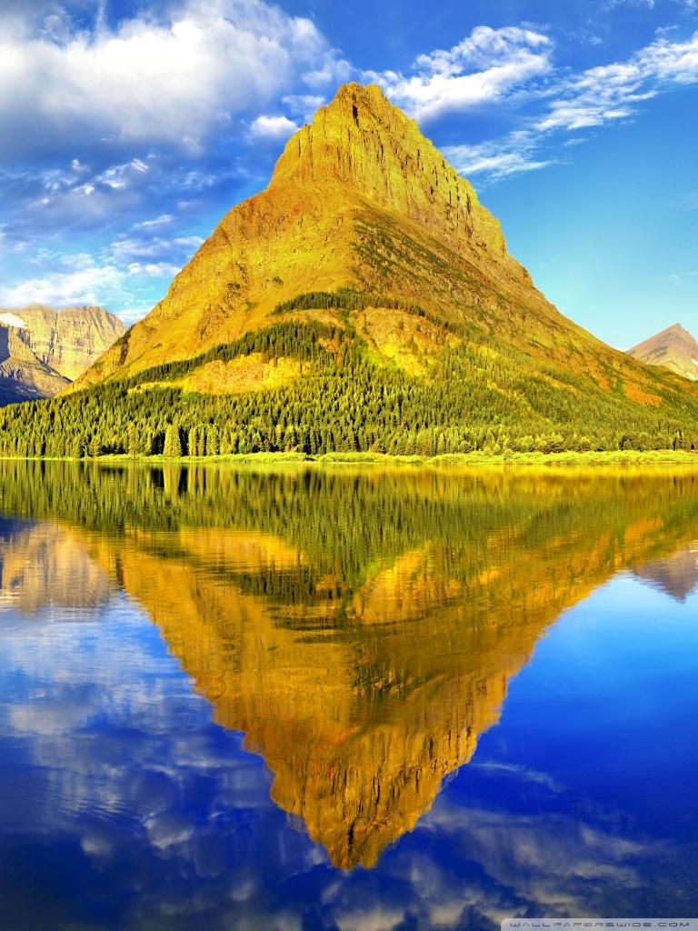 Glacier National Park Panorama Wallpaper 7681024 Wallpaper 768x1024