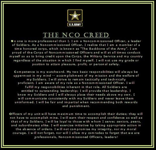 NCO Creed Wallpaper - WallpaperSafari