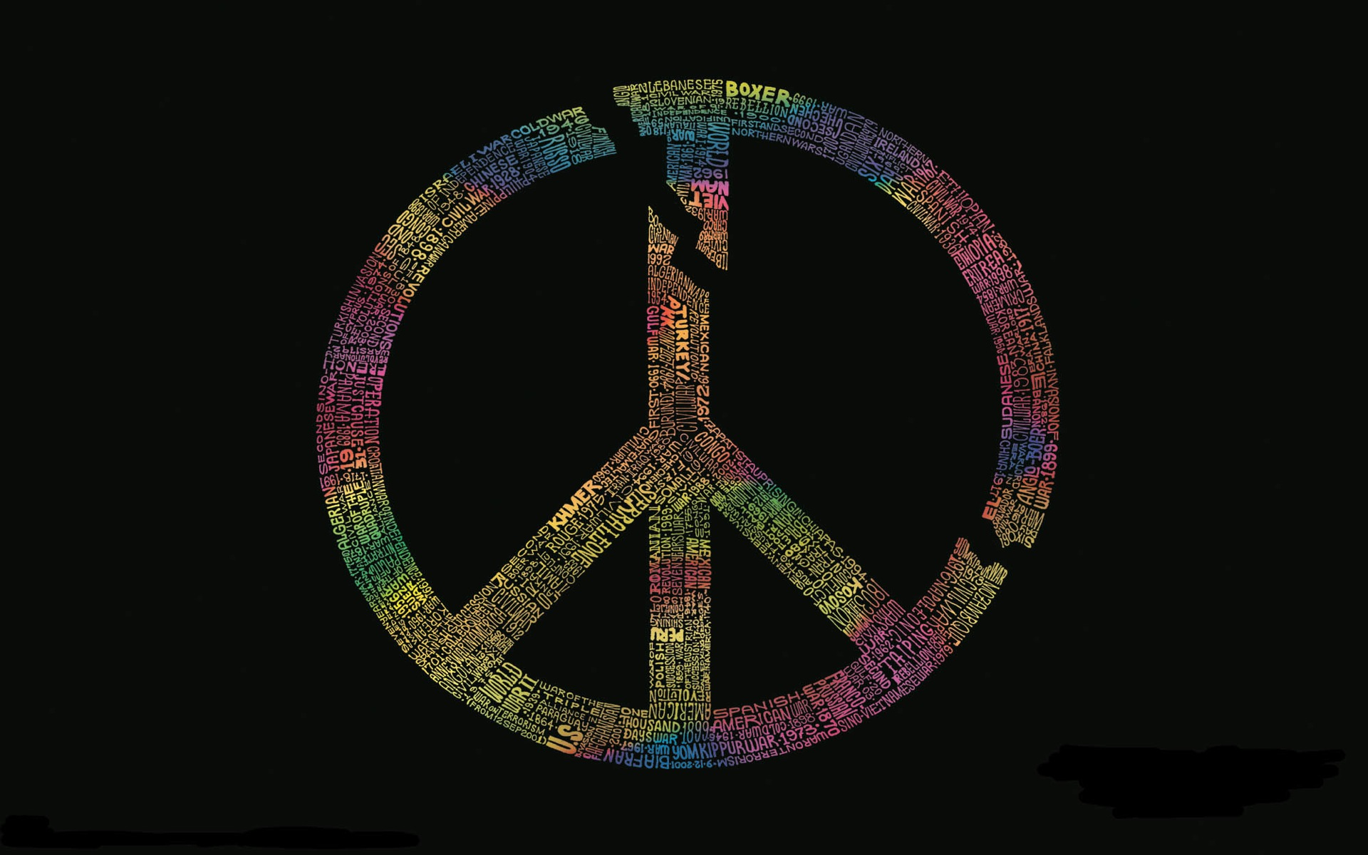Symbol Peace Wallpaper 1920x1200 Symbol Peace 1920x1200