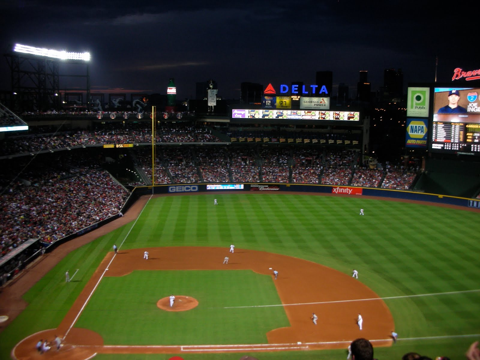 Displaying 13 Images For   Atlanta Braves Wallpaper Turner Field 1600x1200