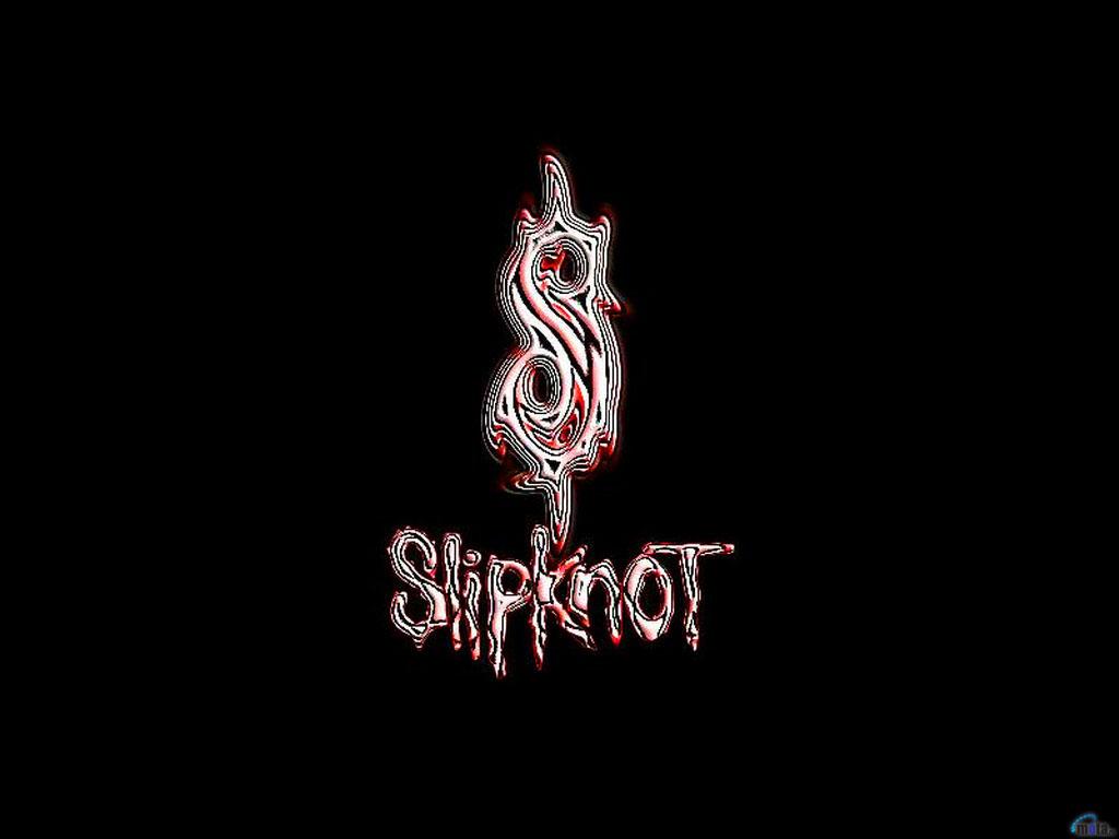 Wallpaper black Slipknot logo Slipknot logo 1024x768