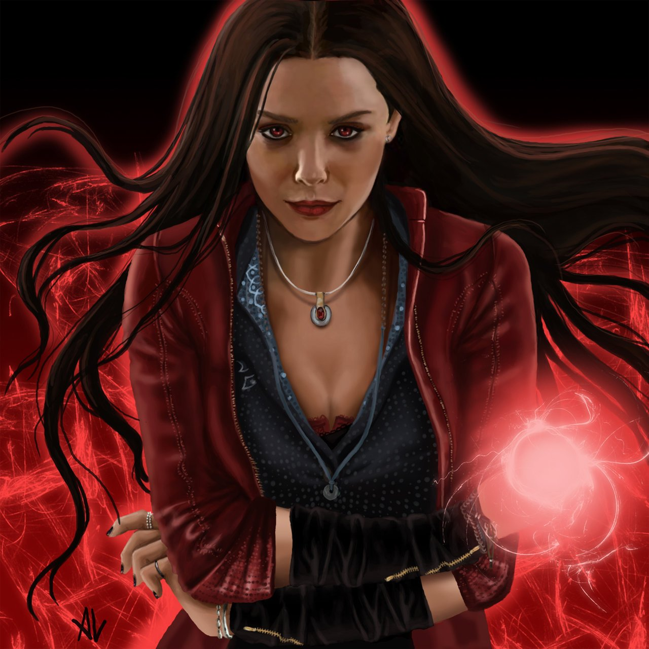 Scarlet Witch Hd Wallpaper On Wallpaperget Com