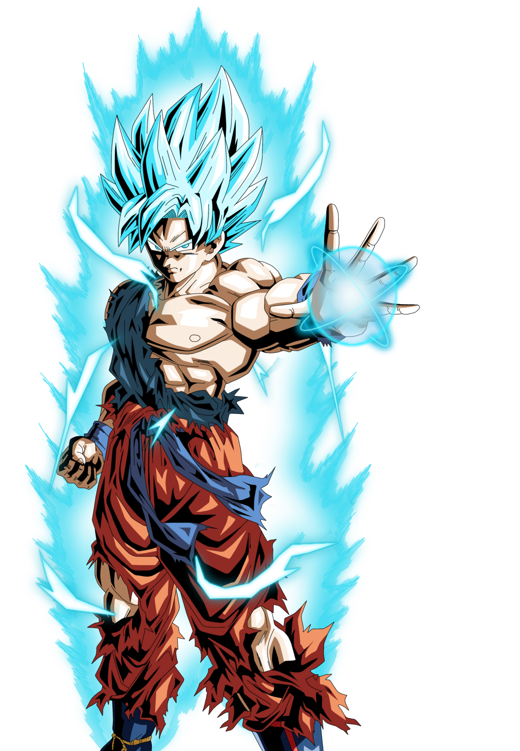 Super saiyan god wallpaper wallpapersafari - Goku 5 super saiyan ...