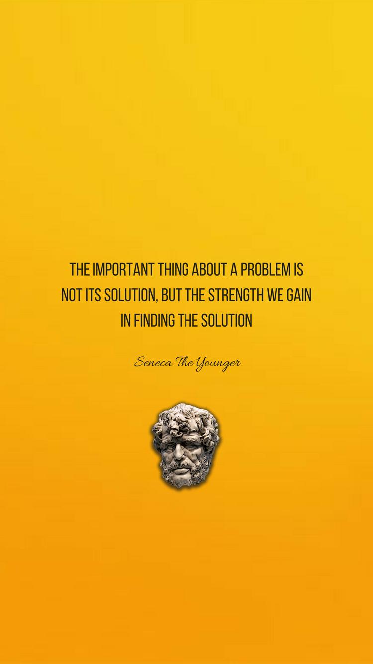 Stoicism SenecaTheYounger Wallpaper Quotes Stoicism quotes 750x1334