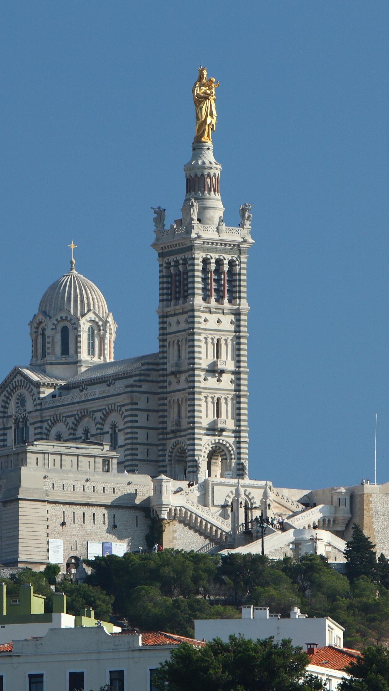Notre Dame de la Garde 1242x2208