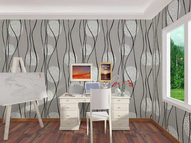 Italian Style Wallpaper Home Decor Modern Plants Papel De Parede 740x555