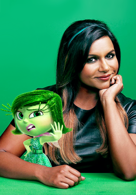 disgust inside out images Disgust and her voice actress 540x771