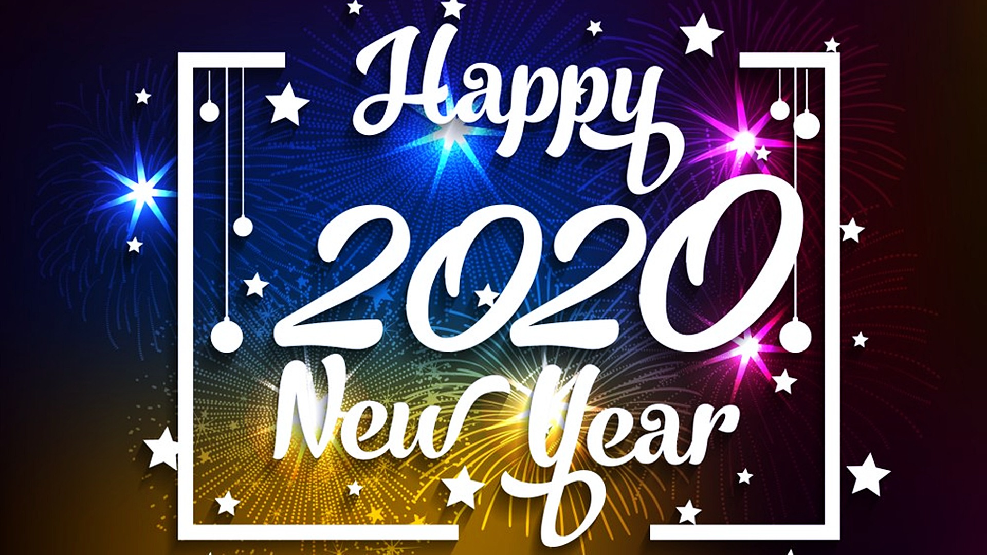 Happy New Year 2020 HD Wallpapers 45551   Baltana 1920x1080