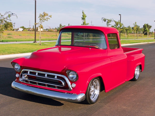 57 Chevy Truck 55   59 Chevrolet Task Force Trucks Pinterest 640x480
