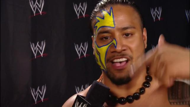 The Usos Face Paint The usos sport a new look wwe 642x361