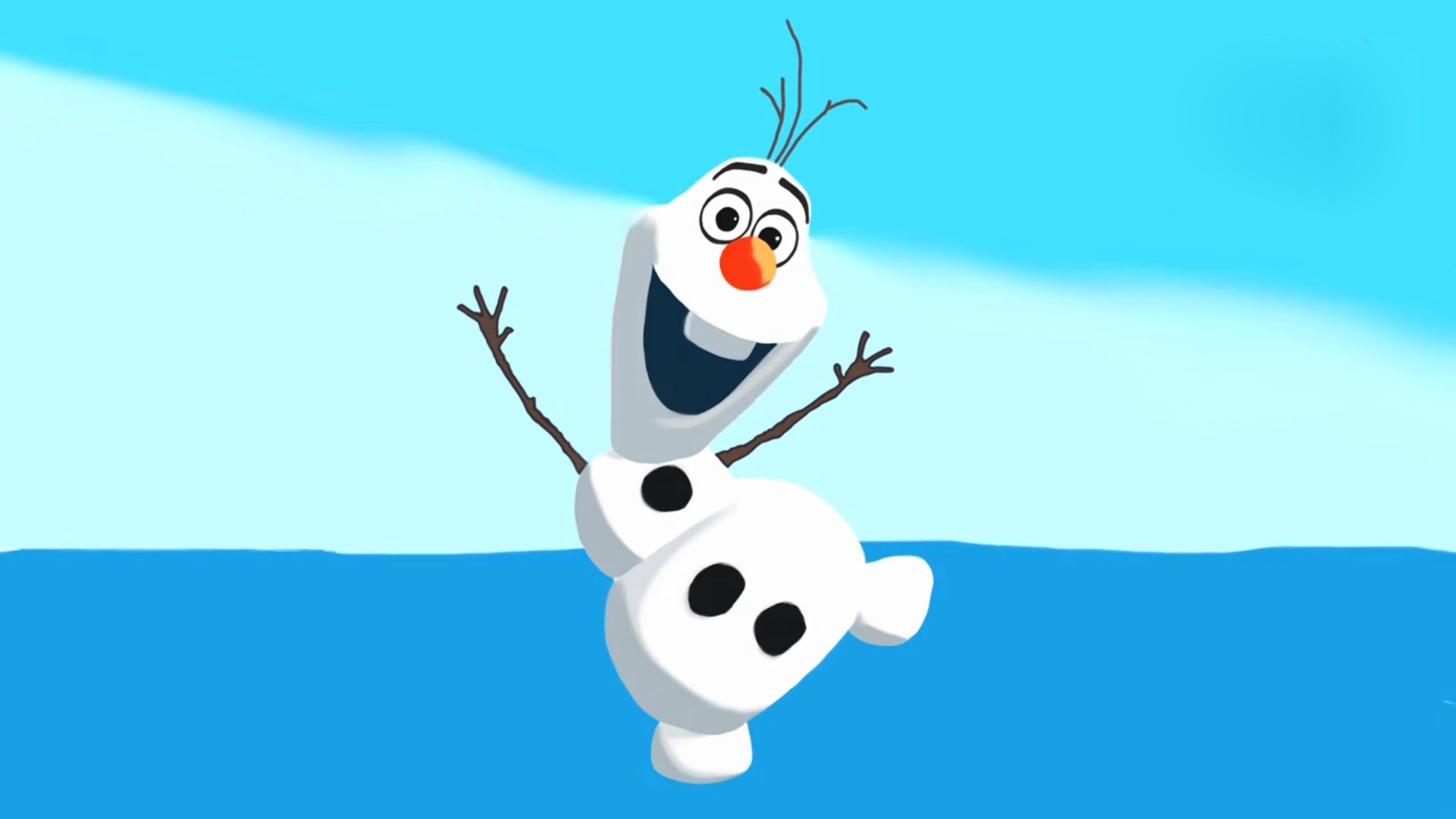 Cute Olaf Wallpapers 2048x1152