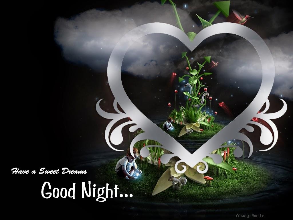 Lovely Good Night wallpapers Allfreshwallpaper 1024x768
