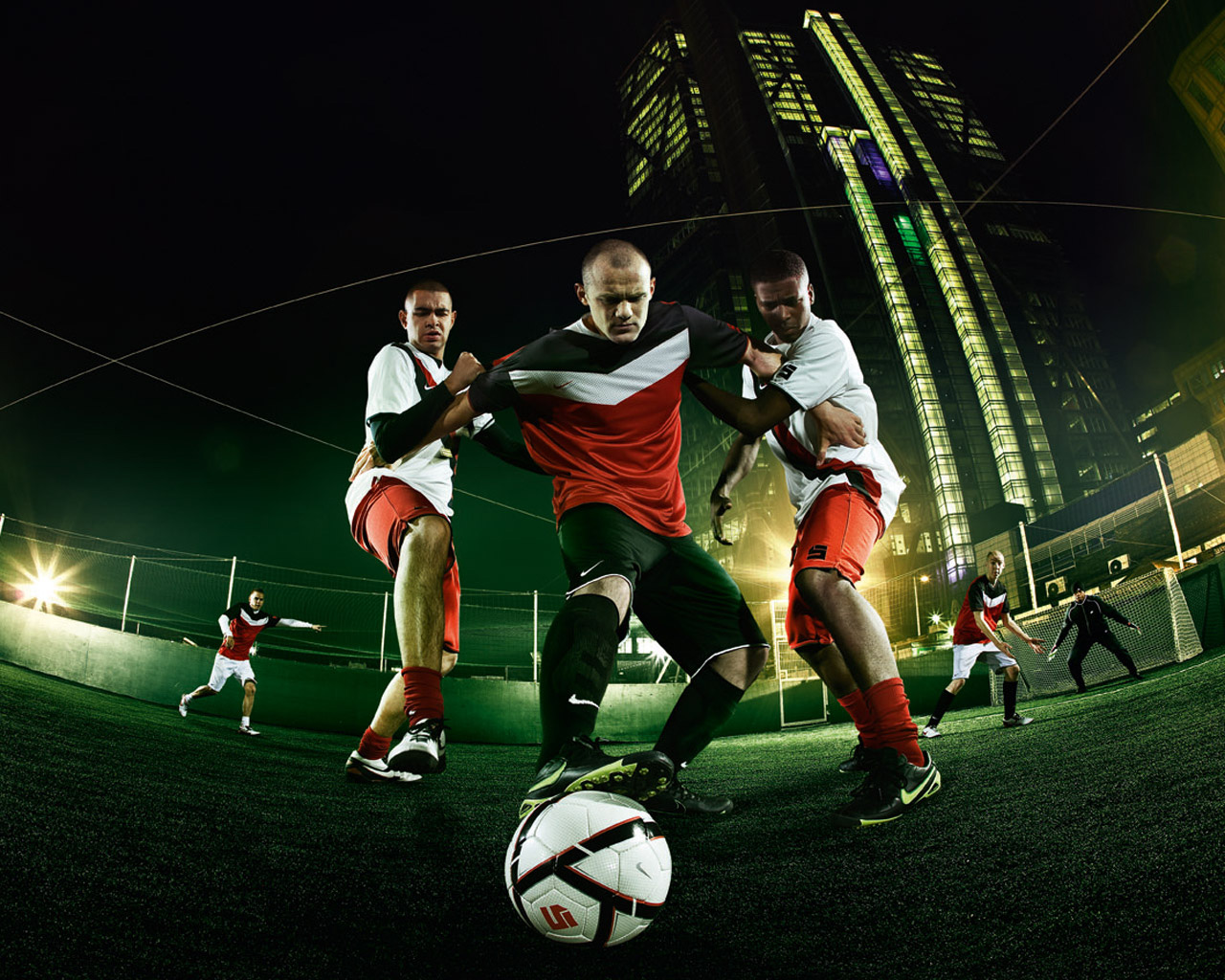 Soccer Wayne Rooneyvery Cool Nike Px Football Picture 428869 1280 1280x1024
