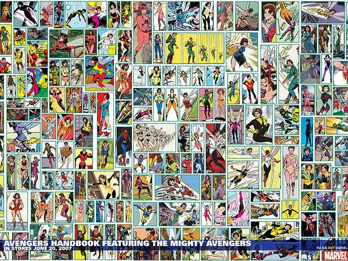Vol09   Avengers Handbook Featuring the Mighty Avengers Wallpaper 36 700x525
