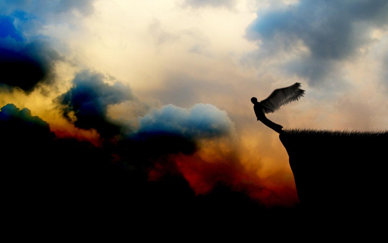 Pics Photos   Fallen Angel Wallpaper Desktop 1280x800