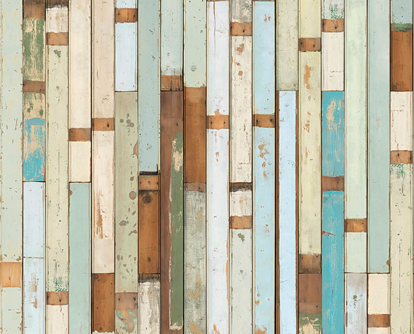 Scrapwood wallpaper by Piet Hein Eek available to buy online at House 600x485