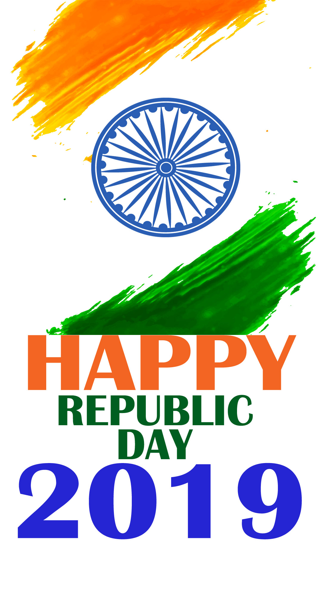 download Happy Republic Day 2019 Wishes HD Wallpapers For FB 1080x1980