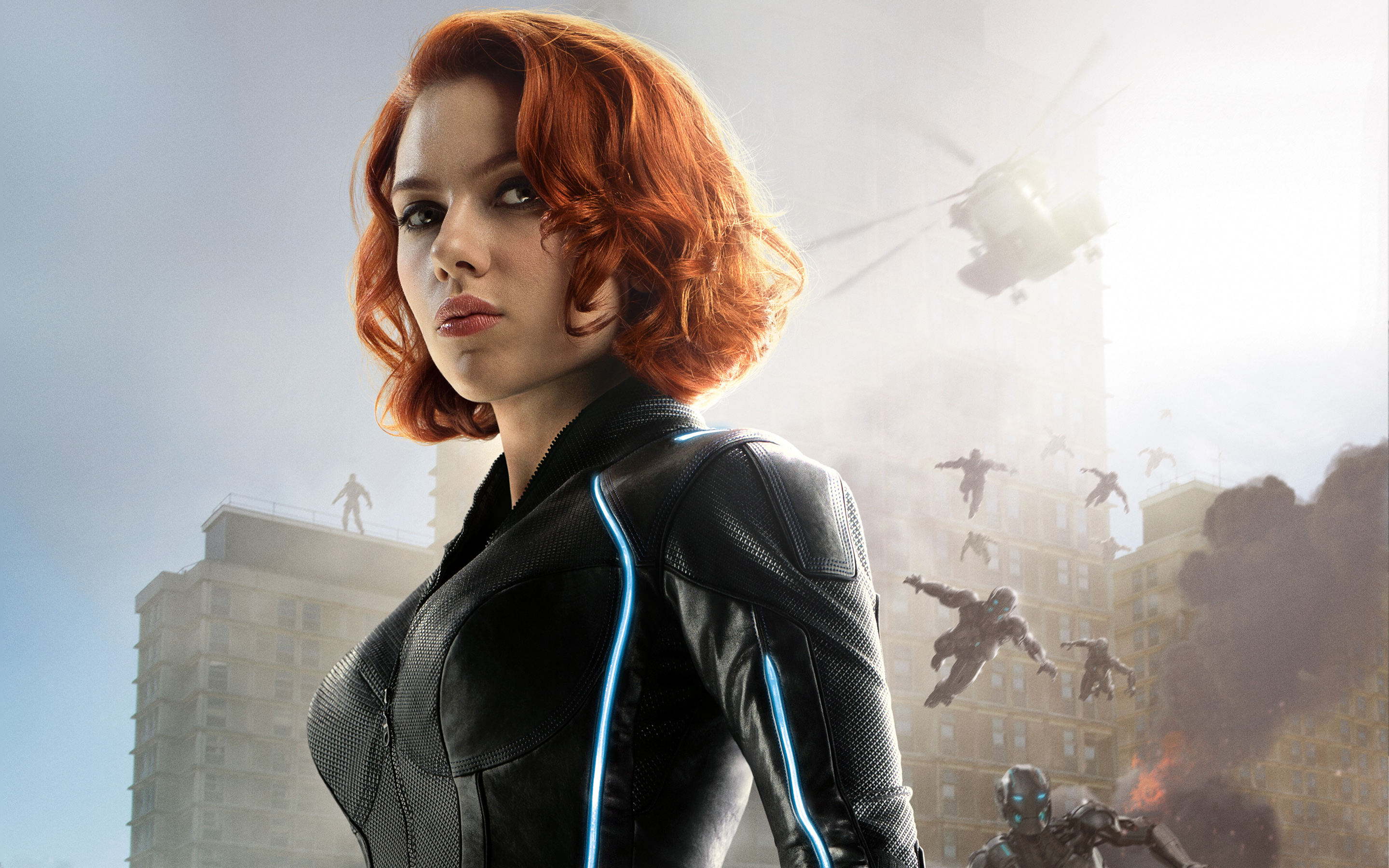 Black Widow Avengers Age of Ultron Wallpapers HD Wallpapers 2880x1800