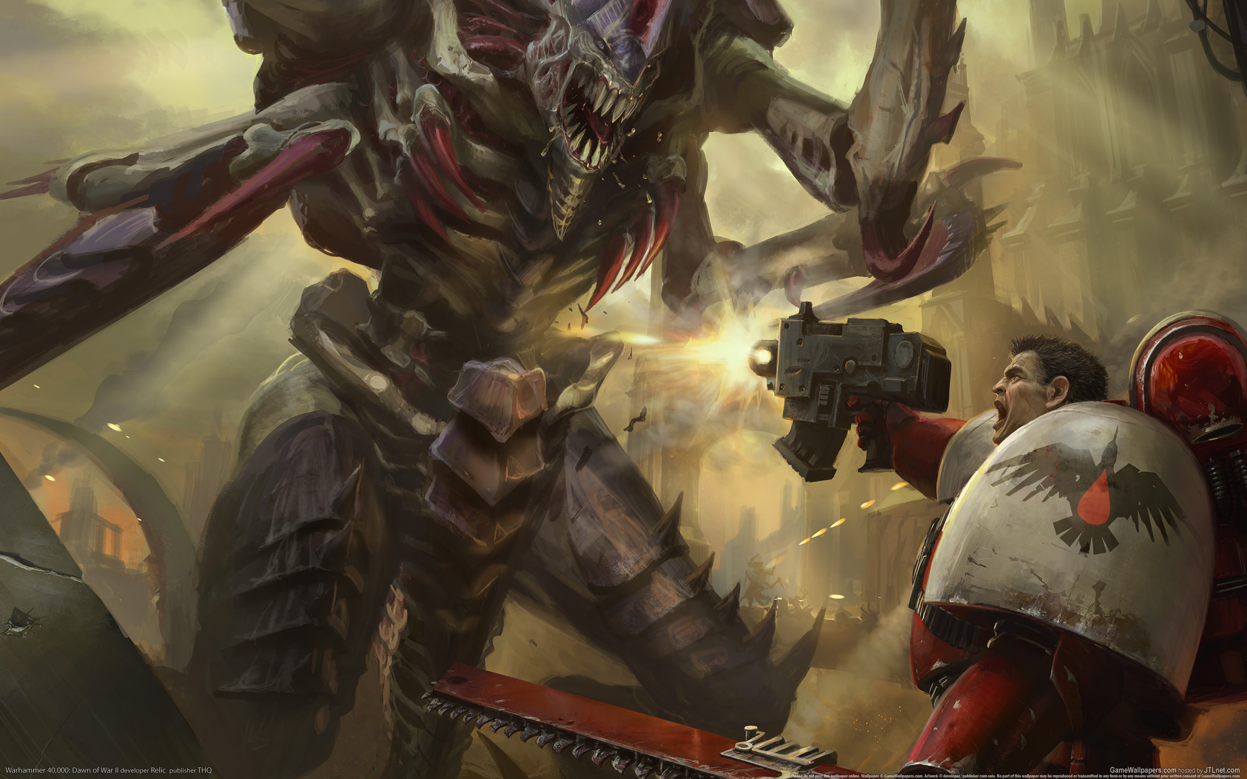 Warhammer 40k Tyranid Wallpaper - WallpaperSafari