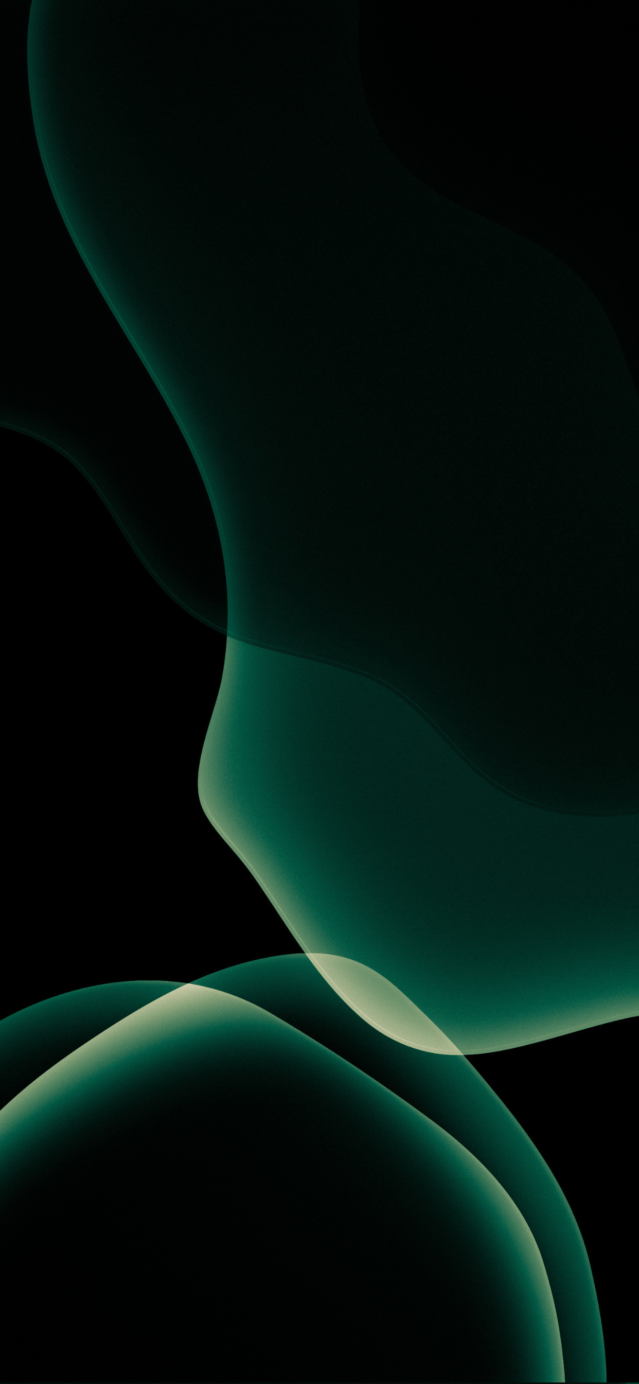 Midnight Green wallpapers 1242x2688