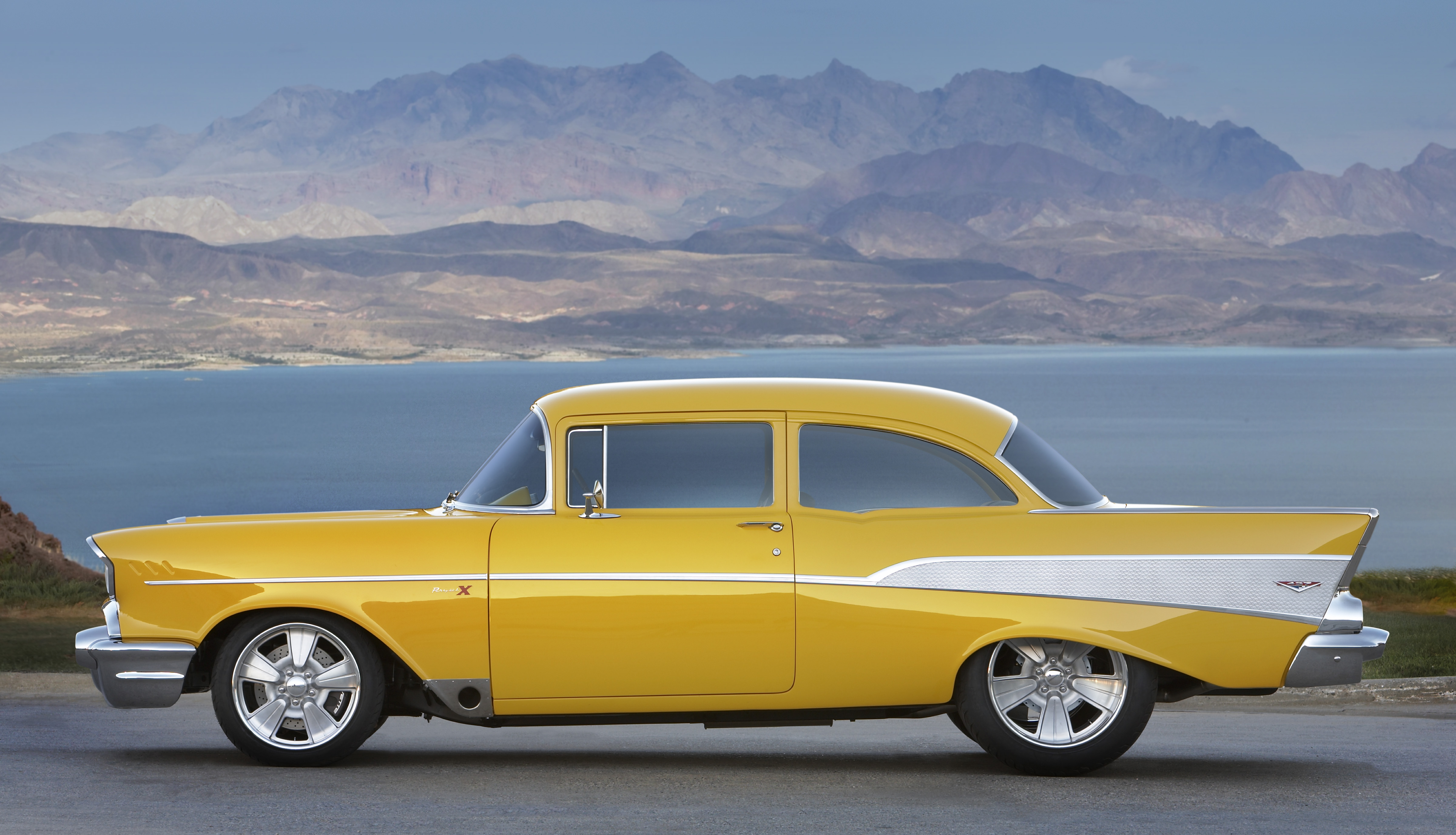 Your Ridiculously Awesome 57 Chevy Bel Air Wallpaper Is Here 4800x2754