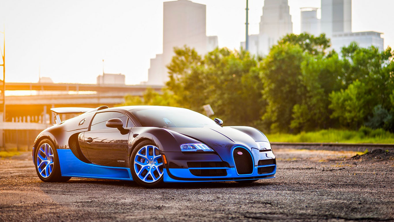 Bugatti wallpaper 20 HD Collection 1366x768
