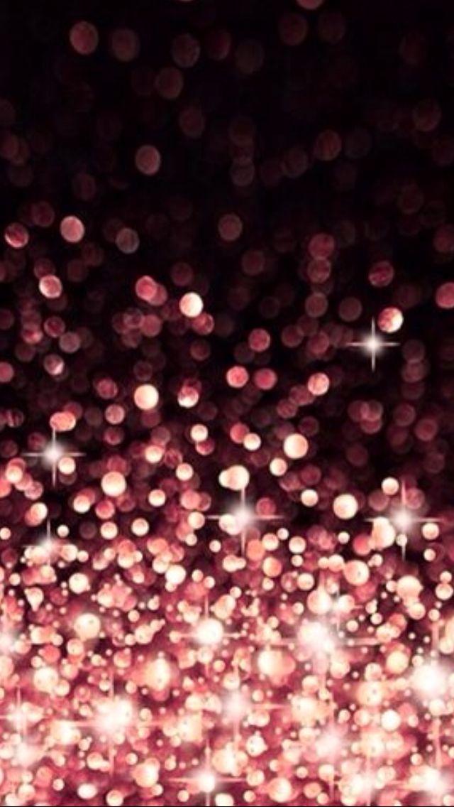 Coral pink bokeh Iphone Wallpapers Pinterest 640x1136