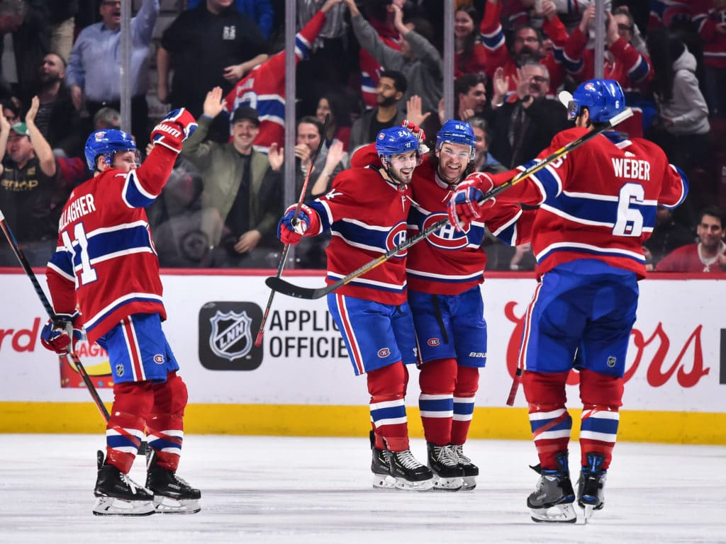 Cracking the win The Canadiens soar above the Cup contending Jets 1024x768