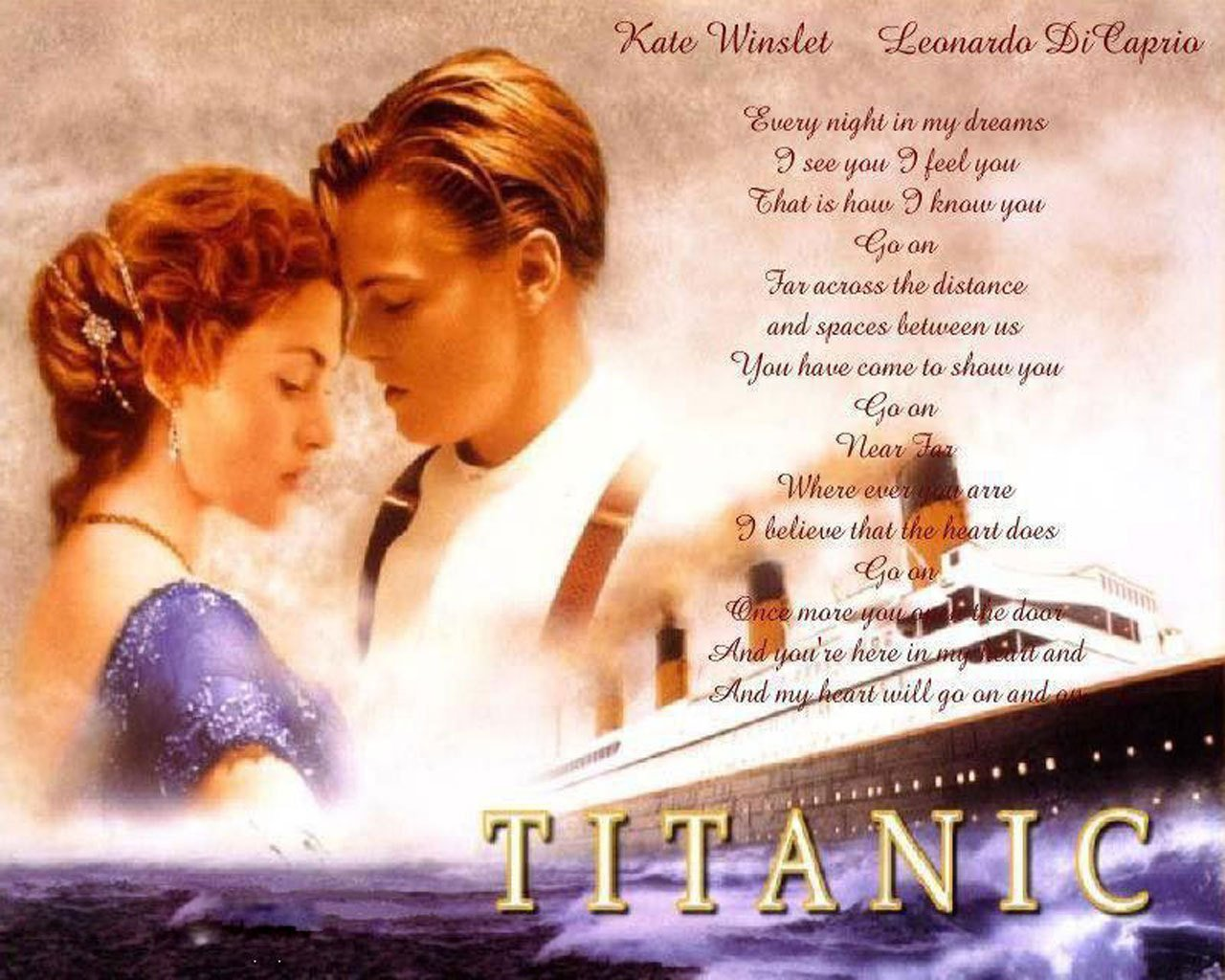 Jack and rose   Titanic Wallpaper 10638639 1280x1024