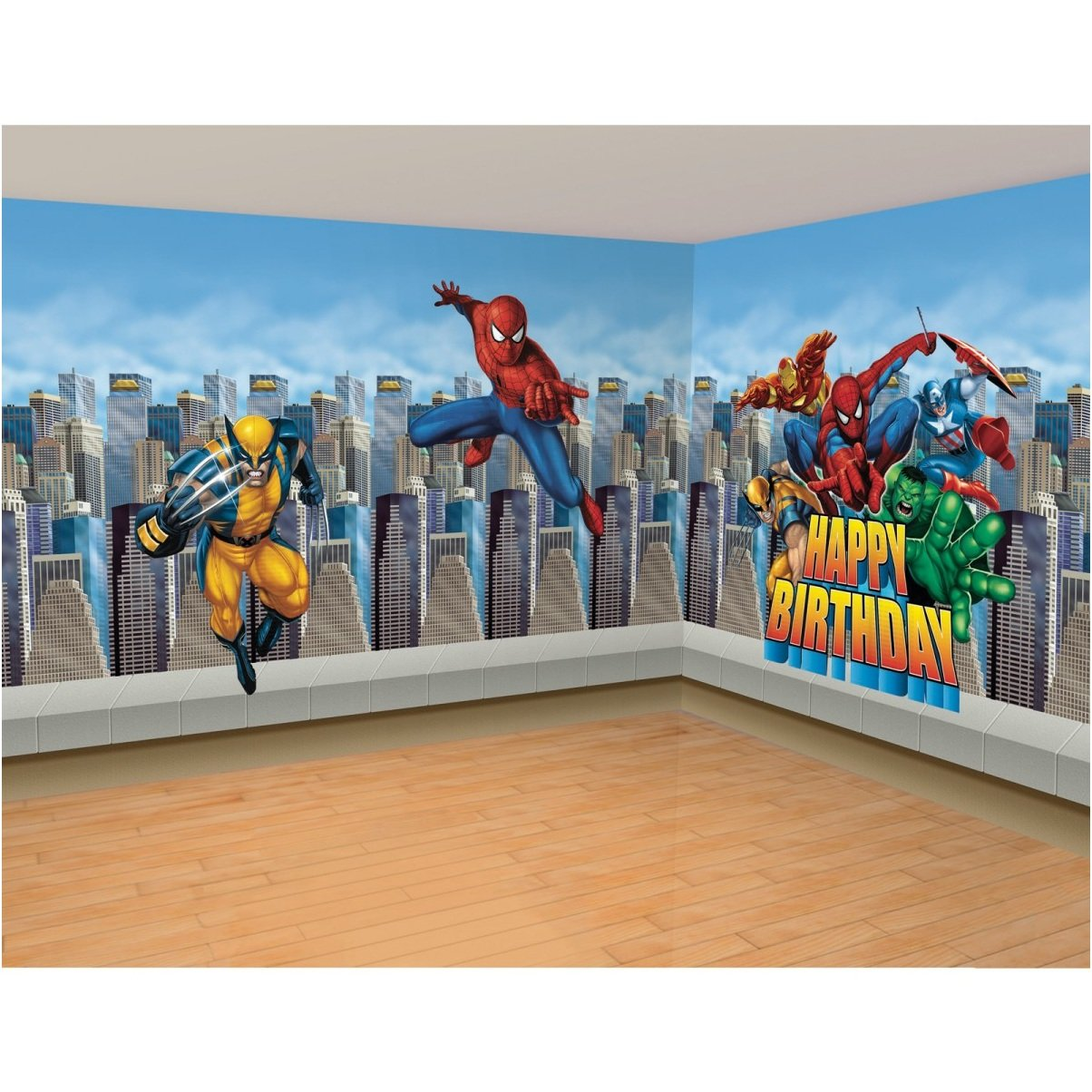50+] Marvel Wallpaper for Boy Room on WallpaperSafari
