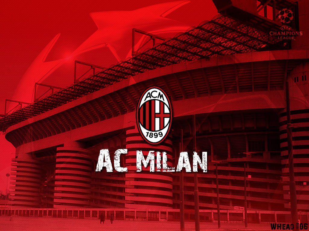 ac milan epl football wallpaper for android ac milan ac milan 1024x768