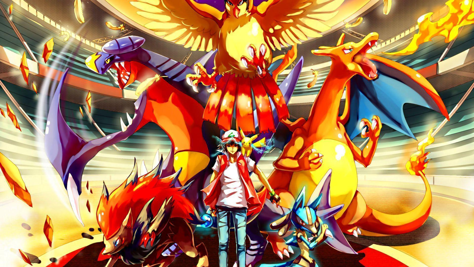 Awesome Pokemon Backgrounds 1920x1080