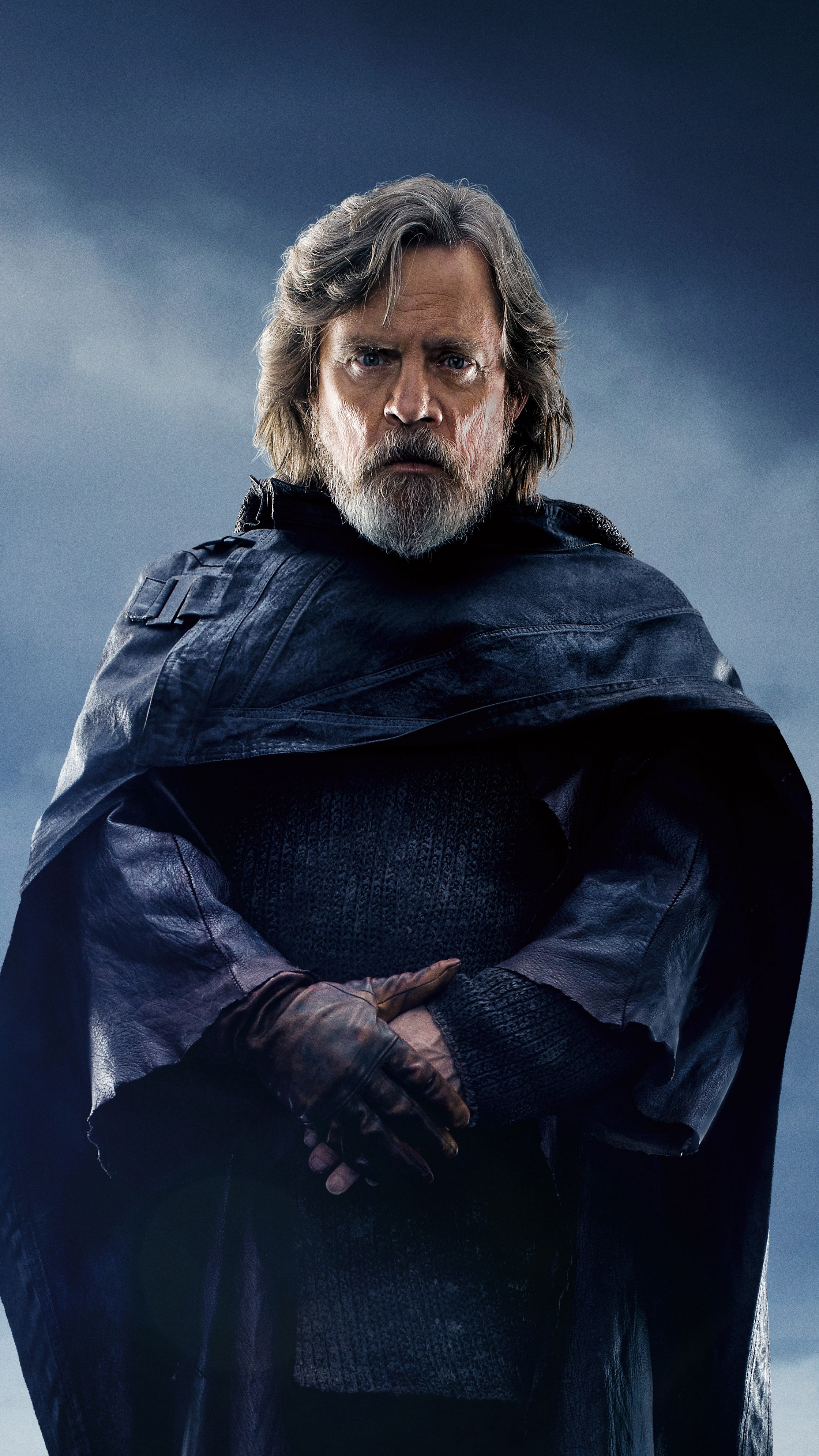 Wallpaper Star Wars The Last Jedi Mark Hamill 5k Movies 16940 2160x3840