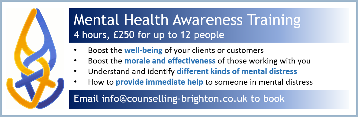 Mental health awareness courses offered for businesses and service 1185x387