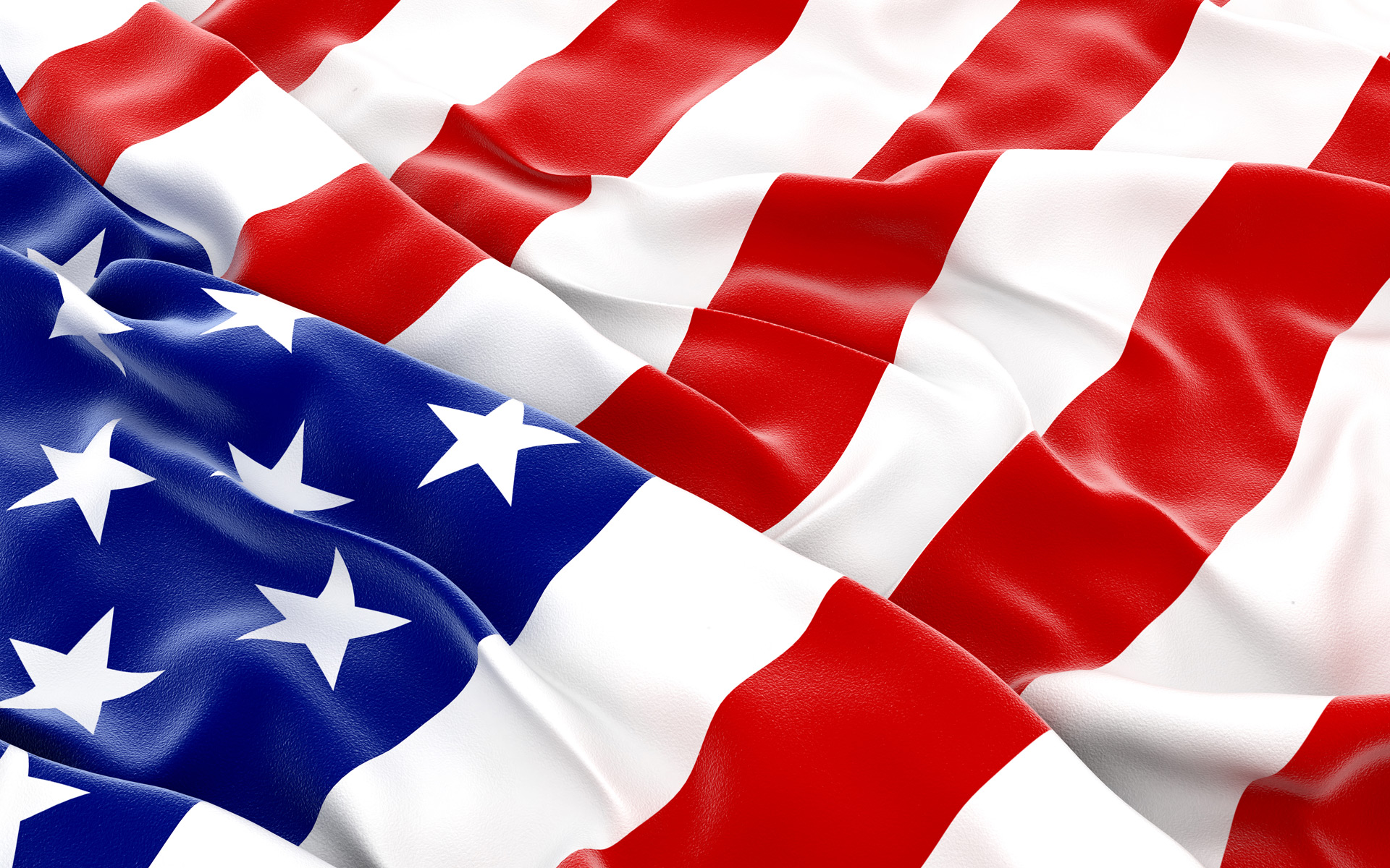 United States Flag Day computer desktop wallpapers pictures 1920x1200