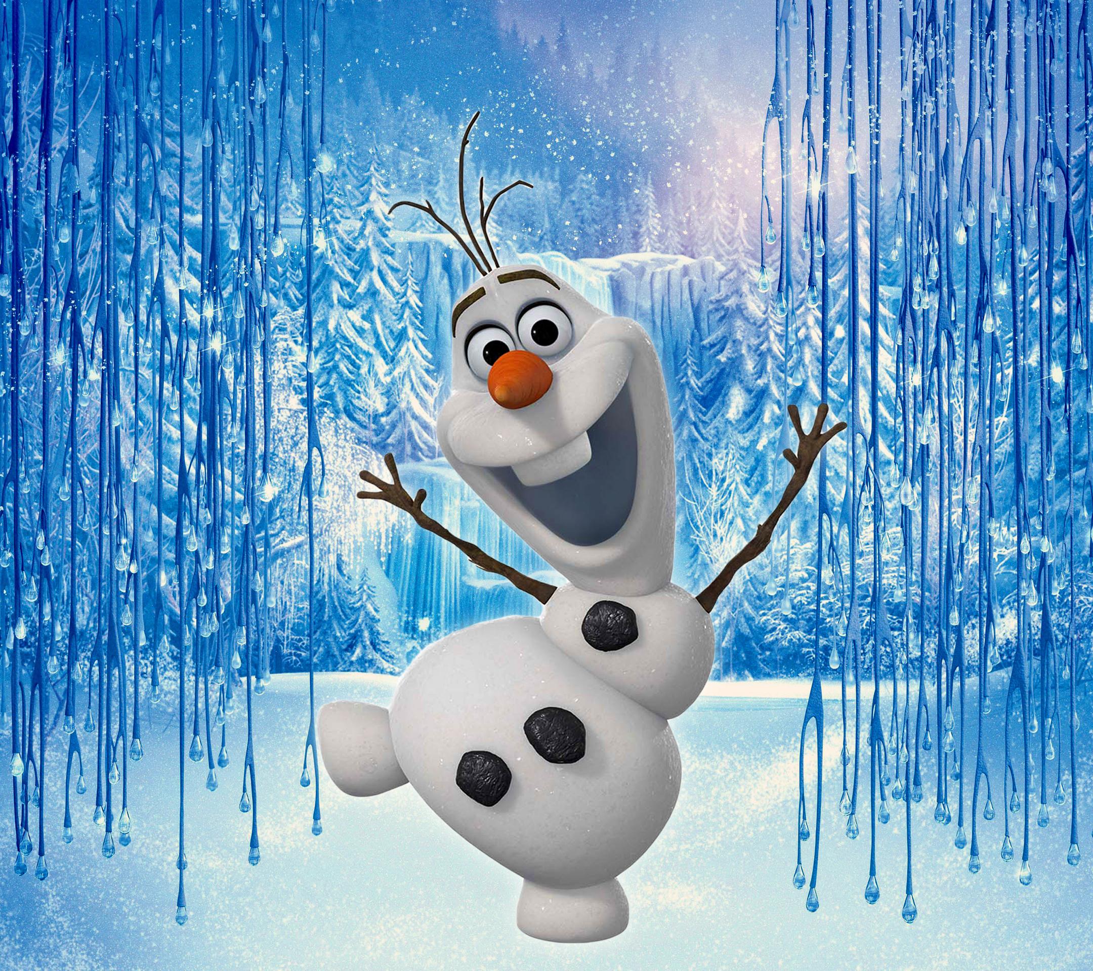 Papis de parede para celular   Olaf Frozen 2160x1920