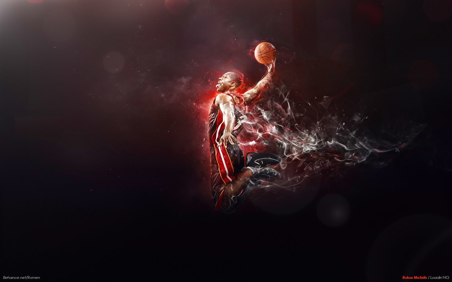 Wallpapers Dwyane Wade NBA HD   Fondos De pantallasWallpaper 1440x900