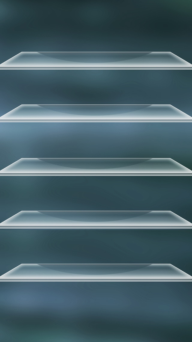 Home shelves 8 iPhone 5 wallpapers 640x1136