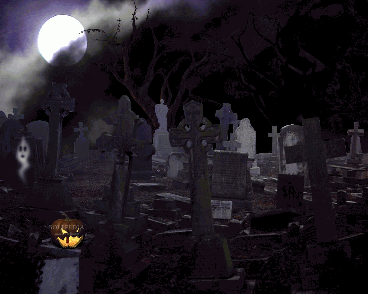 Halloween   Animated Screensaver   This is the image displayed by 1280x1024