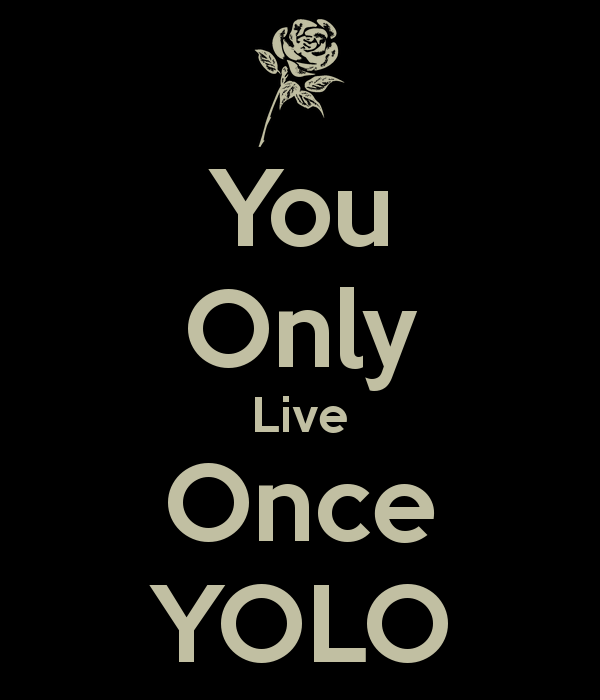 Yolo Logo Wallpaper You only live once yolo 600x700