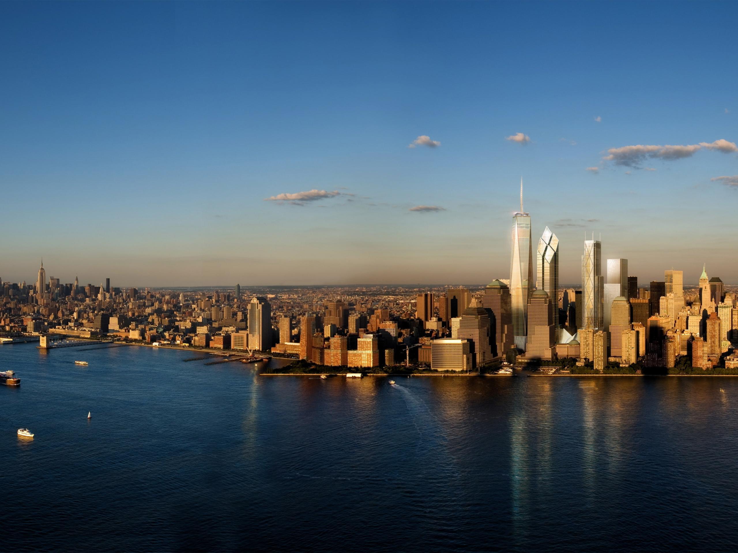 New York City Skyline Wallpaper 2560x1920